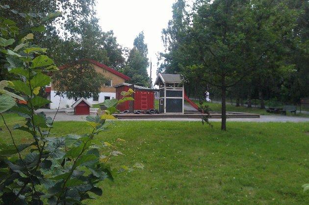 Det er ved denne barnehagen politiet har funnet noen av jentas eiendeler.