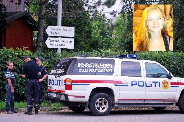 Sigrid Giskegjerde Schjetnes mobiltelefon, sko og sokker ble funnet innenfor gjerdet til Østensjø Kanvas-barnehage i Dalbakkveien 75. Stedet ligger bare rundt 300 meter fra jentas bolig.