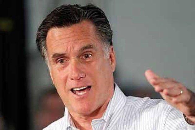 Mitt Romney er med sin skatteplan som en Robin Hood med motsatt fortegn, mener Barack Obama.