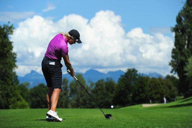 Suzann Pettersen har ikke fått skikkelig sving over spillet i år.