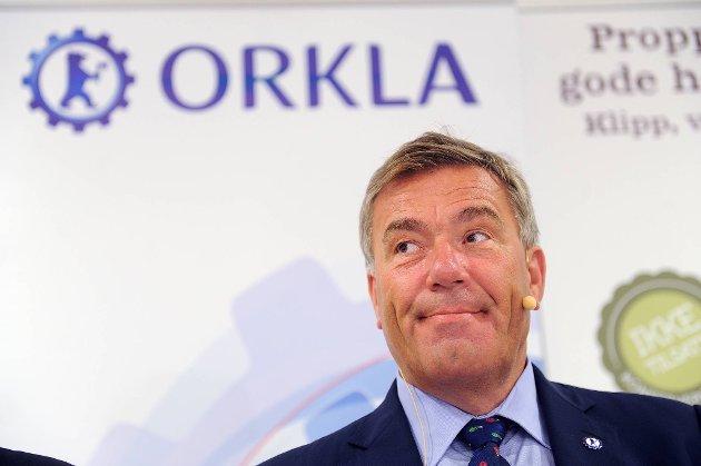 Styreleder i Orkla, Stein Erik Hagen kan smile i dag, men Orklas kjøp av Rieber & Søn ASA må en tur innom EU-kommisjonen.
