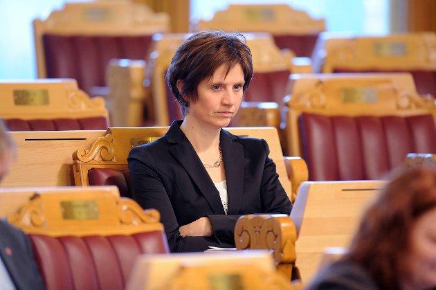Sps helsepolitiske talskvinne Kjersti Toppe sier sykehus blir en sentral sak i valgkampen.