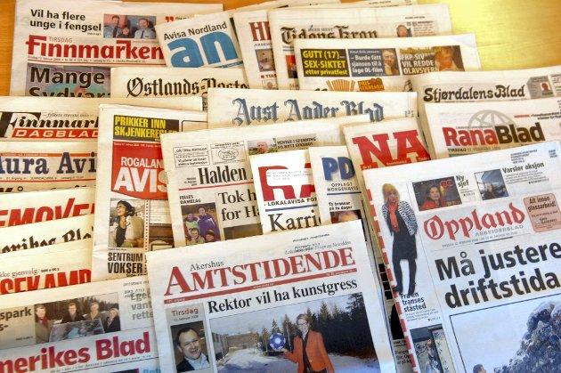 AVIS: Mediebransjen opplever tøffe tider. Det stiller store krav til redaksjonene, også i Glåmdalen. ARKIVFOTO