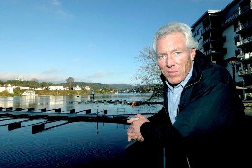 LØNNSOMT: Petter Øygarden (bildet) og de tre søsknene har bygd opp en særdeles lønnsom prosjekt- og entreprenørbedrift.
