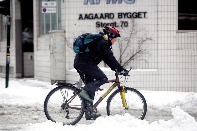 Tromsø kommer dårlig ut som sykkelby i en landsomfattende undersøkelse.