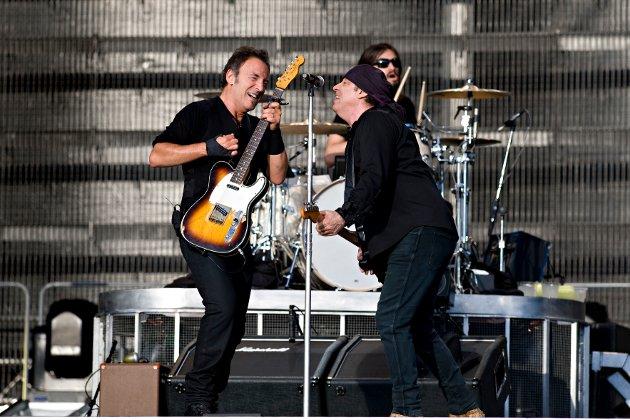 Bruce Springsteen og bergensvenn Little Steven i duett.