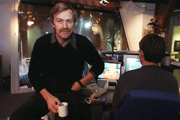 TV 2s nyhetsredaktør Bjarne Berg (1998).