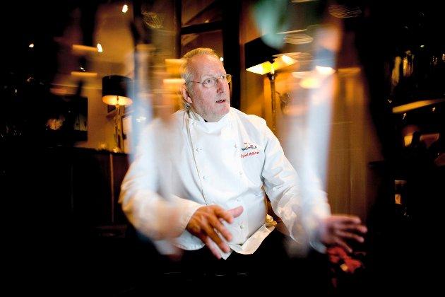 Eyvind Hellstrøm lot seg overbevise av den 25 år gamle kokken Ørjan Johannesen.