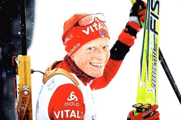 Tora Berger tok gull på fellesstarten.