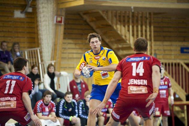 Harald Reinkind og resten av FyllingenBergen tok begge poengene hjemme mot Nøtterøy søndag kveld.