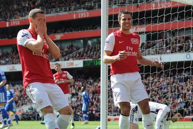 To stolpetreff var det nærmeste Arsenal kom scoring i lørdagens hjemmekamp mot Chelsea.