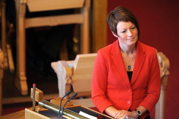 Line Henriette Hjemdal, KrFs miljøpolitiske talskvinne.