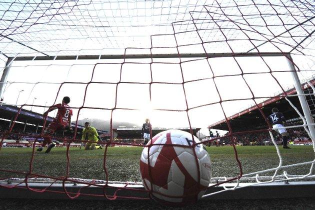 Brann - Viking 0-0 på Stadion 7. mai 2012. Brann fikk et mål annulert.