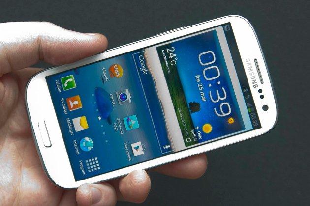 Samsung Galaxy SIII er trolig markedets beste mobiltelefon.