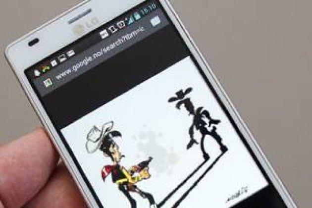 LG Optimus 4X.
