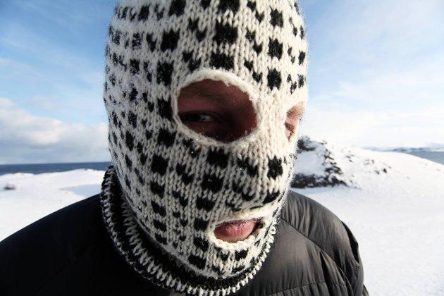 ANONYM: Flere av de tolv kunstnerne foretrekker å arbeide anonymt. Norske «Pøbel» er blant dem. Han hevder at dette bildet forestiller en kamerat.