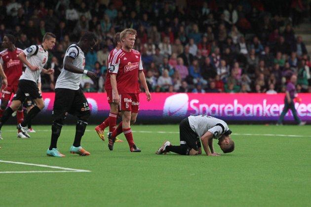 Sogndal slit tungt mot Fredrikstad.