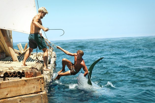 Kon-Tiki Foto/Copyright: Carl Christian Raabe / Nordisk Film Distribusjon AS Nordisk Film / VFX ved Fido Nordisk Film / VFX ved Important Looking Pirates  *** Local Caption ***