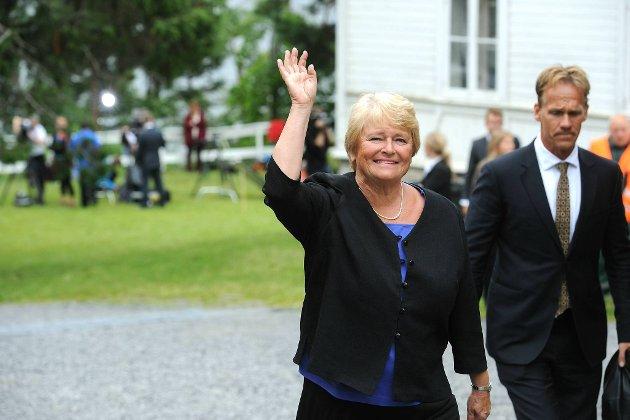 Gro Harlem Brundtland var tilbake på Utøya.