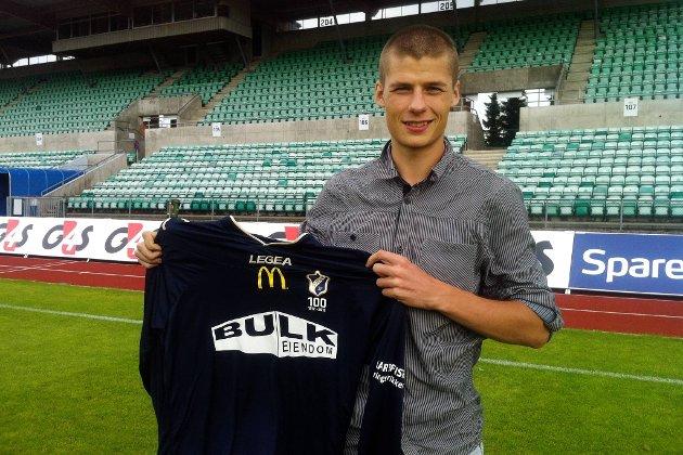 Elfar Freyr Helgason er klar for Stabæk.
