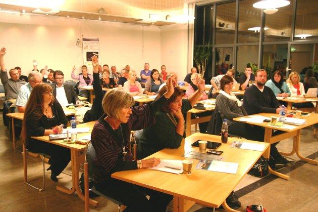 REAGERER: Et flertall i Malvik kommunestyre reagerer kraftig på forslaget om å bygge ned store arealer dyrkajord i Trondheim. Mindretallet (6H og 1Frp) foreslo en mildere reaksjon overfor nabokommunen.