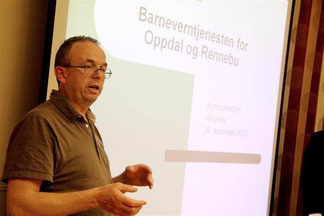 SI I FRA:  Barnevernsjefen i Oppdal og Rennebu Ivar Bøe mener at skolene og barnehagene bør varsle oftere og raskere. Arkivf oto: Siv Storløkken