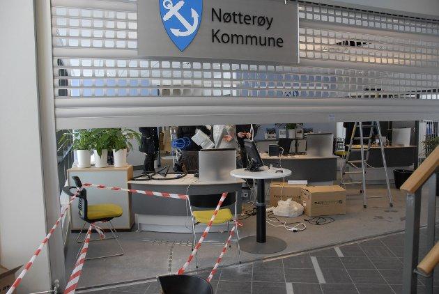 Sentralbordet i Nøtterøy kommune er stengt 24. mai på grunn av streik.