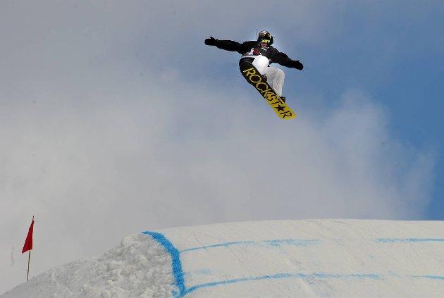 Rockstar Chas Guldemond vant  slopestyle under snowboard VM.