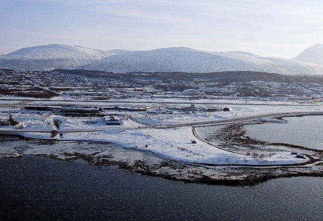 VIL HIT: Etter det Nordlys erfarer vil Ikea etablere seg på Langnes i Tromsø.