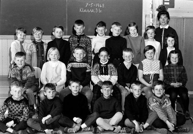 Elever ved Stavern skole 1968-69