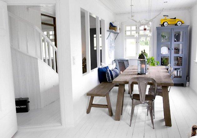 Slik ser spisestua ut i Norge vakreste hjem.