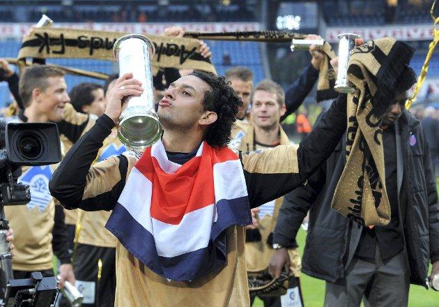 Aalesund ble årets cupmester i fotball. Michael Barrantes var cupfinalens store spiller.