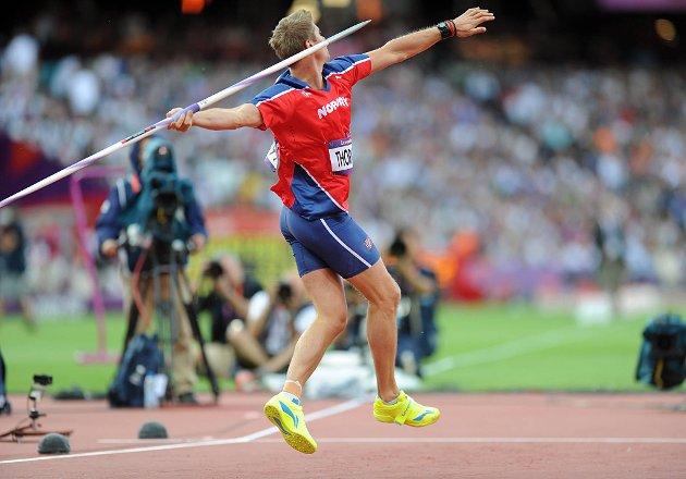 Andreas Thorkildsen endte på en skuffende sjetteplass under lørdagens spydfinale i OL.