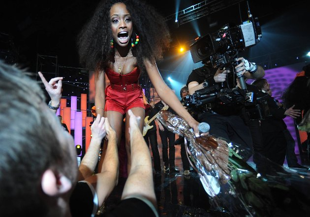 Stella Mwangi  vant Melodi Grand Prix 2011 med låten «Haba haba»
