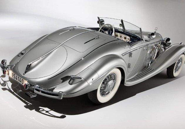 Kun 25 eksemplarer av Mercedes-Benz 540 K Spezial Roadster, og kun noen få av disse igjen hadde lokk over reservehjulet. Det hadde denne som ble solgt for 52 millioner kroner på en auksjon.