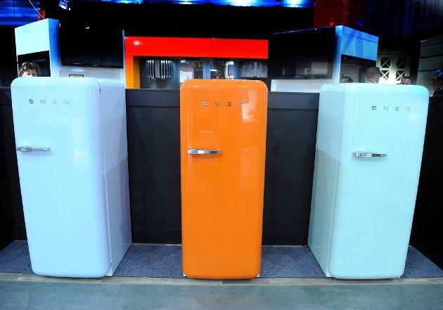 Gamle dager tilbake: Kjøleskap med 1950-1960 talls stil.