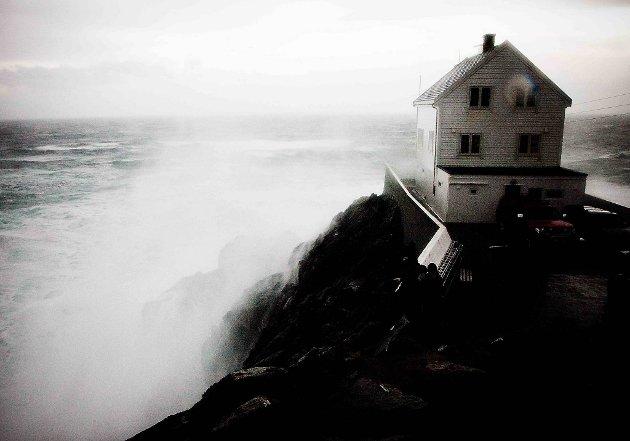 """En ny storm nærmer seg kysten, men den skal ikke bli like kraftig som """"Dagmar"""". Arkivfoto."""