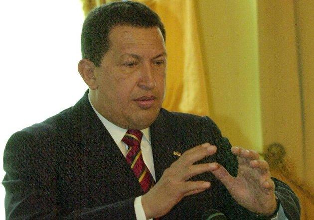 Hugo Chavez.