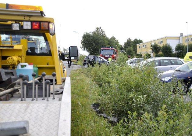 Trafikkulykke hunstad