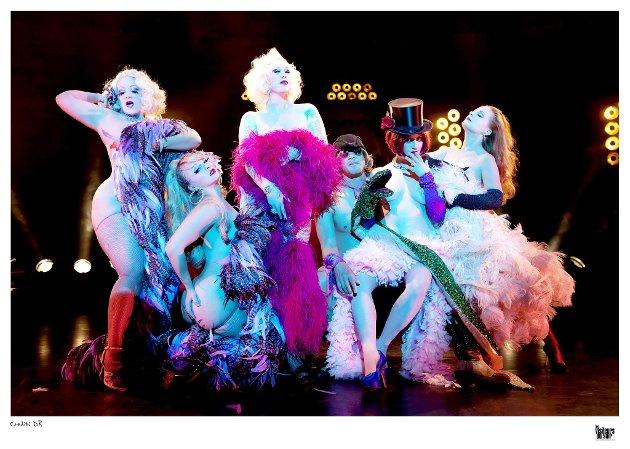 Ny opplevelse: Cabaret New Burlesque blir en sensasjon i Bølgen. En erotisk og musikalsk opplevelse om larvikpublikummet våger... 7. november er de her.