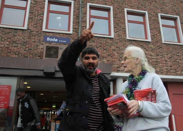 Romfolk forlater Bodø