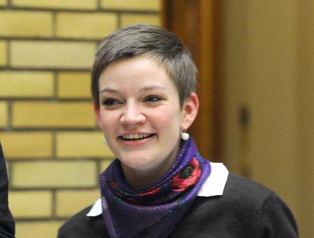 Silje Lundberg, leder i Natur og Ungdom.
