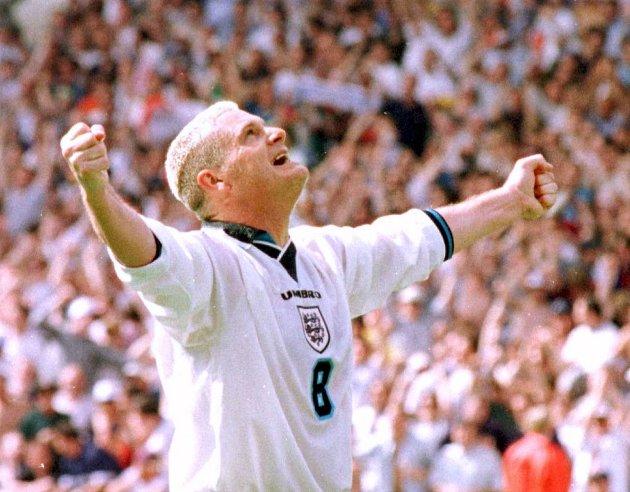 Paul Gascoigne fra EM i 1998.