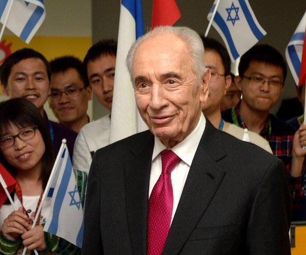 Shimon Peres (90).