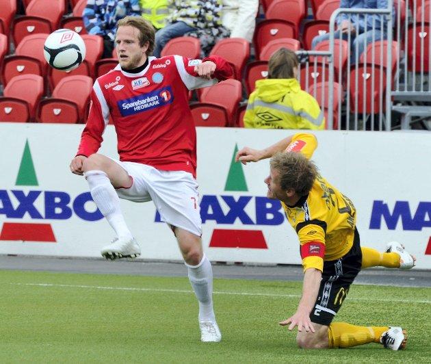 KIL - Start herre fotball Gjemselund 0 - 1 FOTO: JENS HAUGEN