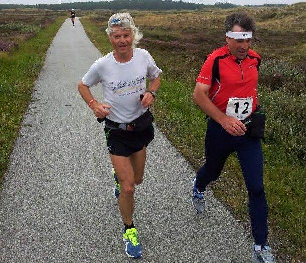 I DANMARK: Trond Sjåviks eget bilde fra bloggen han skriver fra TransEurope Footrace 2012. Bildet er tatt på en av de første etappene. (Foto: Privat)