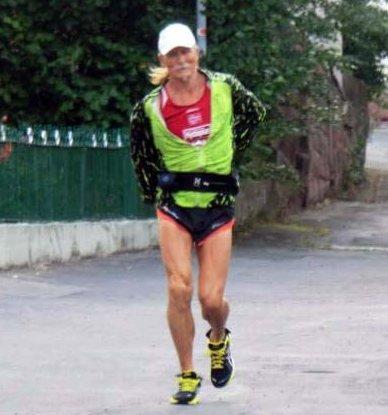 I TYSKLAND:  Eiolf Eivindsen på 13. etappe i Tyskland. Han føler seg i god form akkurat nå.
