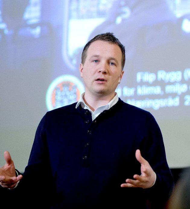 Filip Rygg tror man kan være i en sitasjon i 2017 der man kan velge om man vil bygge Bybanen til Åsane eller til Fyllingsdalen.