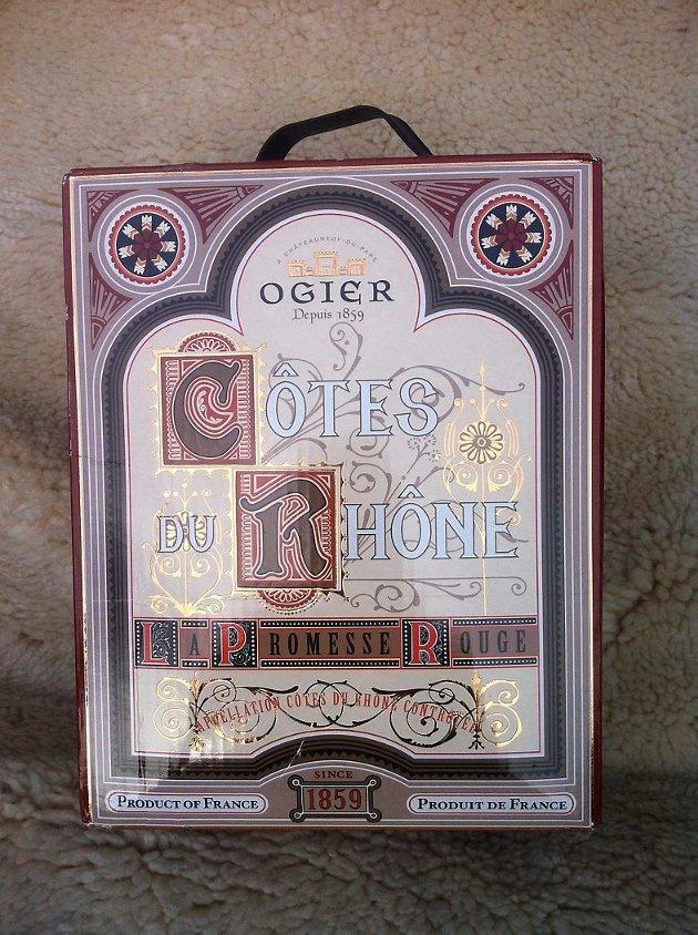 Ogier La Promesse Côtes du Rhône 2010.