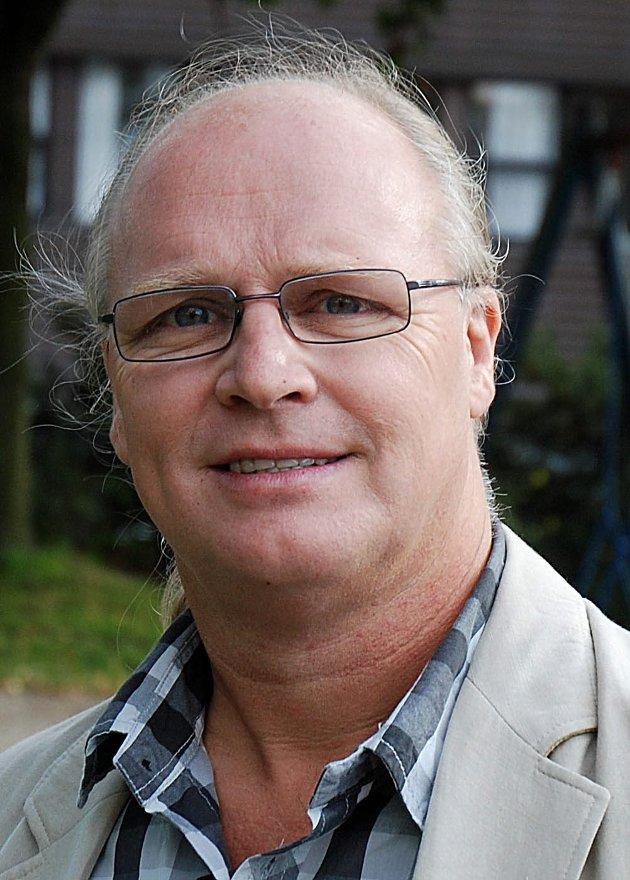 PÅ FLYET: Roy Morten Andersen var passasjer på flyet.
